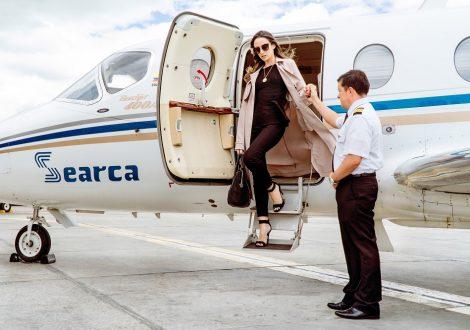 Avión privado primera vez